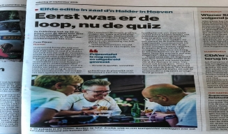 Eerst was er de loop, nu de quiz